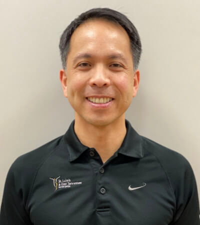 Cedrick Manalili, Physical Therapist